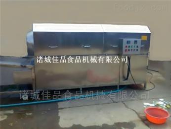 滚筒型肉类咸菜包洗袋机 滚筒洗袋除油机