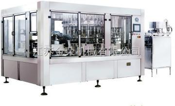 JR碳酸飲料三合一灌裝機