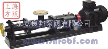G型螺杆式污水泵——上海方瓯公司