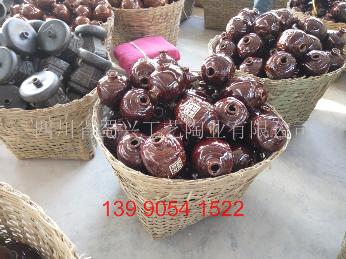 1斤-10斤容量土陶酒瓶,瀘州細陶酒瓶廠家