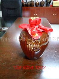 1斤\2斤\3斤\5斤\10斤土陶酒瓶-細陶酒瓶-龍鳳酒瓶系列