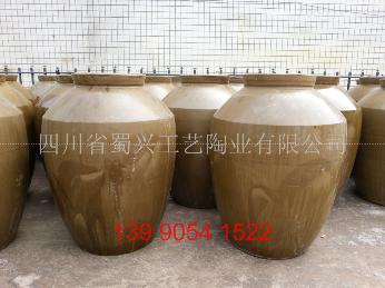 白酒储酒坛100斤粗陶酒缸,200斤土陶酒坛子