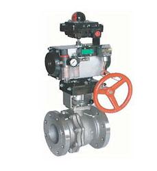 气动球阀(采用GT型气动执行器),ZSHO气动球阀