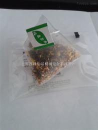 SF-4T桂花配绿茶立体三角袋内外袋一体包装机