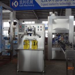 操作简单 小型2头花生油灌装机 大豆油灌装机(图)