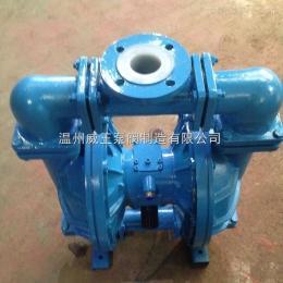QBY-15流体衬氟气动隔膜泵 气动隔膜泵 无泄露隔膜泵