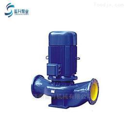 ISG山東大流量高揚程立式管道循環離心泵