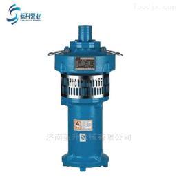 山东QY充油式潜水泵喷泉电泵厂家供应