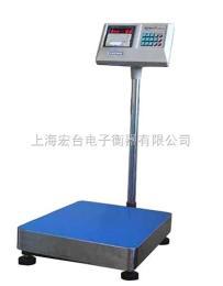 TCS可连接电脑30公斤电子台秤,标准台面75KG打印电子台秤
