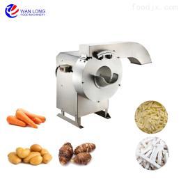 QC-1000自动胡萝卜土豆切条机 薯条加工设备
