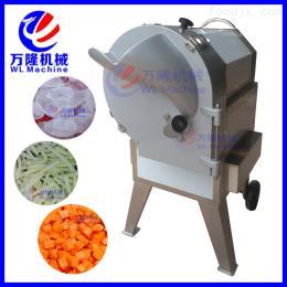 QC-100自動切片機 多功能土豆蘿卜切片切絲機