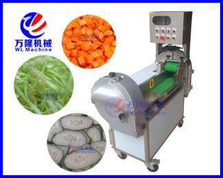 QC-112双调频切菜机可调节 多功能双头切菜机 瓜果切片切丝切丁机