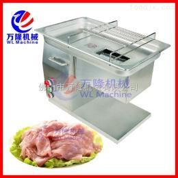 QH-5饭堂切肉机 烧肉切片机 食品加工切肉片机
