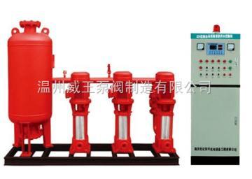 全自动变频调速恒压消防供水设备不锈钢变频供水设备控制柜