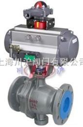 Q647F/H气动固定式球阀