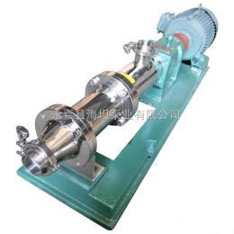 GF型螺杆泵 GF型食品卫生级螺杆泵