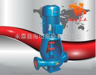 立式管道泵廠家|ISGB型便拆式管道泵