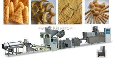 油炸面食设备、油炸膨化面食机生产设备、食品机械厂家