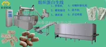 TN泰诺组织蛋白生产线、人造肉加工机械