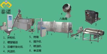 漂浮鱼饲料加工设备、鱼饲料生产设备生产线