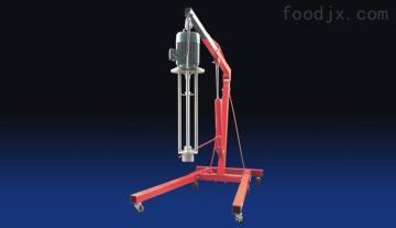 移动式吊杆均质机
