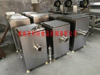 JRJ-100批发全不锈钢鸡骨架绞肉机设备
