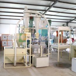 6FW-F100A石磨玉米面粉机