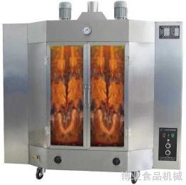 旋转式烤鸭炉燃气啤酒烤鸭炉