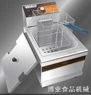 博业单缸单筛电热炸炉-901