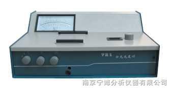 721型光栅分光光度计