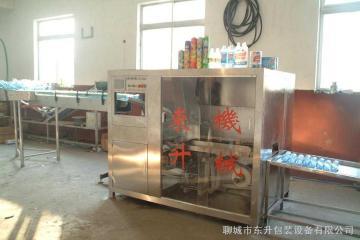 DS-III84消毒液全自动热熔胶贴标机