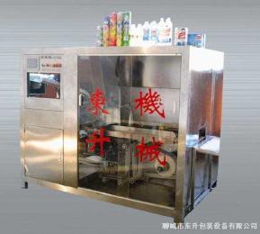 DS-III全自动热熔胶纸筒贴标机