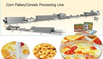 玉米片设备,玉米膨化机设备