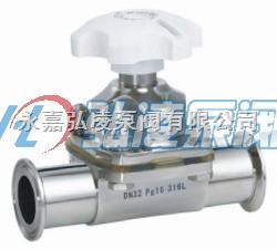 隔膜阀厂家:卫生隔膜阀 卫生级不锈钢隔膜阀