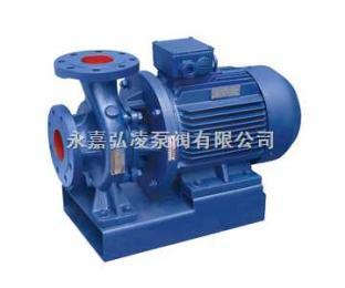 管道泵厂家:ISW型卧式管道离心泵