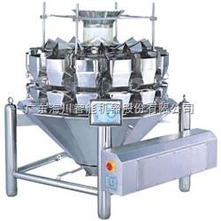 海川柱型10斗组合秤花生包装机\通心粉分装机、定量秤