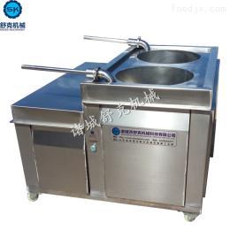 SYGC-1000肉粒香肠液压灌肠机配套扎线机使用