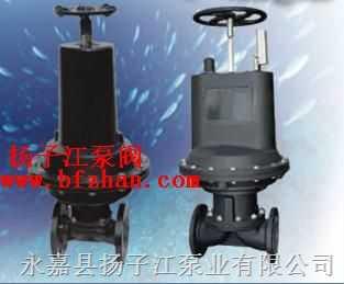 隔膜阀:EG6k41wJ英标气动常开型衬胶隔膜阀