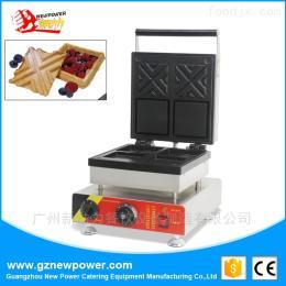 NP-519電熱夾心華夫機模具松餅爐糕點設備