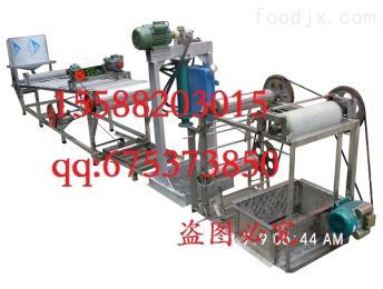 4米不銹鋼商用不銹鋼豆腐皮機器一套 千張機干豆腐機廠家直銷4米帶技術