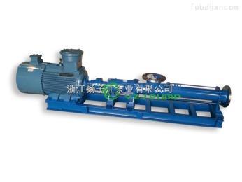 厂家直销 污水处理运输304不锈钢单螺杆泵 污泥泵 淤泥螺杆泵