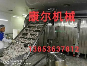 诸城?#20992;?#28856;鱼生产流水线 油炸生产线 厂家销售