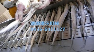 QY-450供应新型带鱼鲜鱼切段机链条式厂家直销