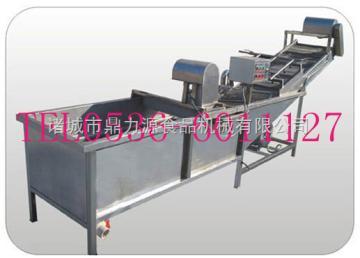 QX4000多功能清洗机、蔬菜清洗流水线、洗菜机、选果机、漂烫机