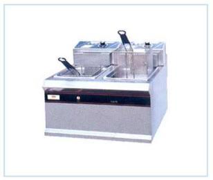 EF-904双缸双筛电炸炉