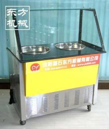 東方機械銷售多功能炒冰機 電動炒冰機