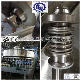 BW4T150易拉罐含果粒果汁饮料灌装设备