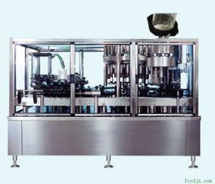 PGF系列热灌装全自动冲瓶灌装封盖机