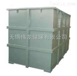 钢衬塑储槽 钢衬塑方箱 开口方槽