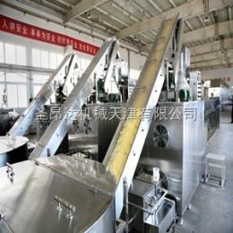 天津圣昂達全自動非油炸雜糧方便面生產線